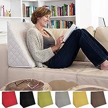 Cuscino Per Leggere A Letto Ikea.Amazon It Cuscino A Cuneo Per Letto