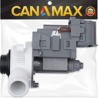 W10276397 Washer Drain Pump Premium Replacement Part by Canamax - Compatible with Whirlpool Kenmore Washers - Replaces LP397 AP6018417 WPW10276397VP