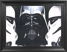 Star Wars Dark Force 3D Poster Wall Art Decor Framed Print | 14.5x18.5 | Lenticular Posters & Pictures | Memorabilia Gifts for Guys & Girls Bedroom | Darth Vader & Troopers Starwars A New Hope Movie
