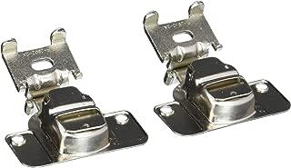 Amerock BP2811I1214 Nickel Finish Matrix Concealed 2-Way Adjustable Cabinet Hardware Hinge, 3/8-Inch Overlay - 10 Pair Pack