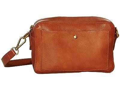 Madewell The Transport Camera Bag (English Saddle) Handbags