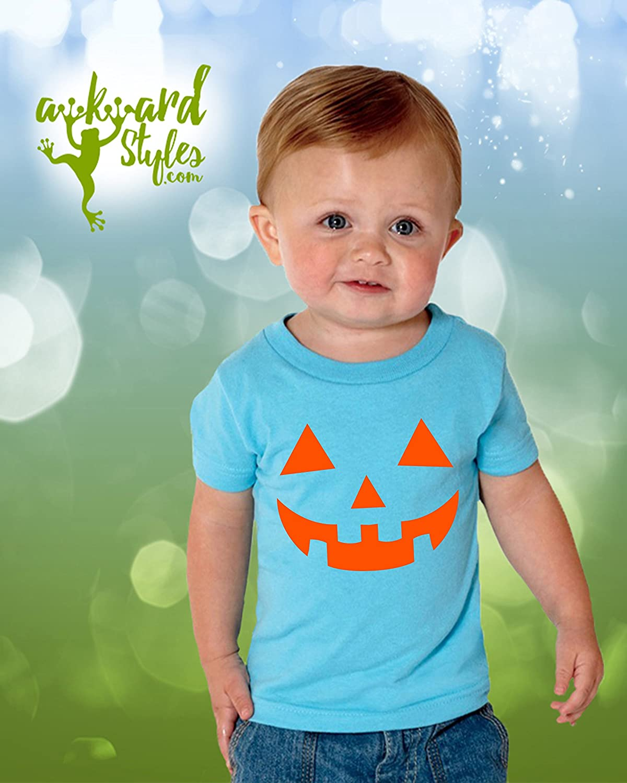 Jack 'O Pumpkin Lantern Halloween Tshirt - Party Tee Shirt for Toddler Girls Boys Kids - 2T 3T 4T 5T