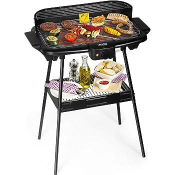 Bestron Barbecue de table électrique, Avec pieds à hauteur