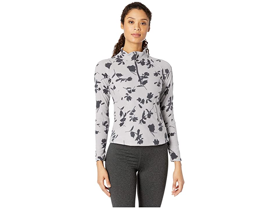 Obermeyer Siena Fleece Top (Overcast Shadow) Women