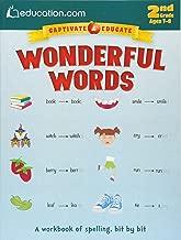 Wonderful Words: A workbook of spelling, bit by bit (Captivate & Educate)