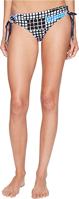 Gridlock Bottom with Lace-Up Sides