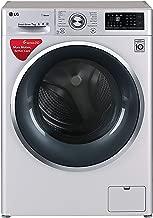 LG 7 kg Inverter Fully-Automatic Front Loading Washing Machine (FHT1207SWL.ALSPEIL, Silver, Inbuilt Heater)