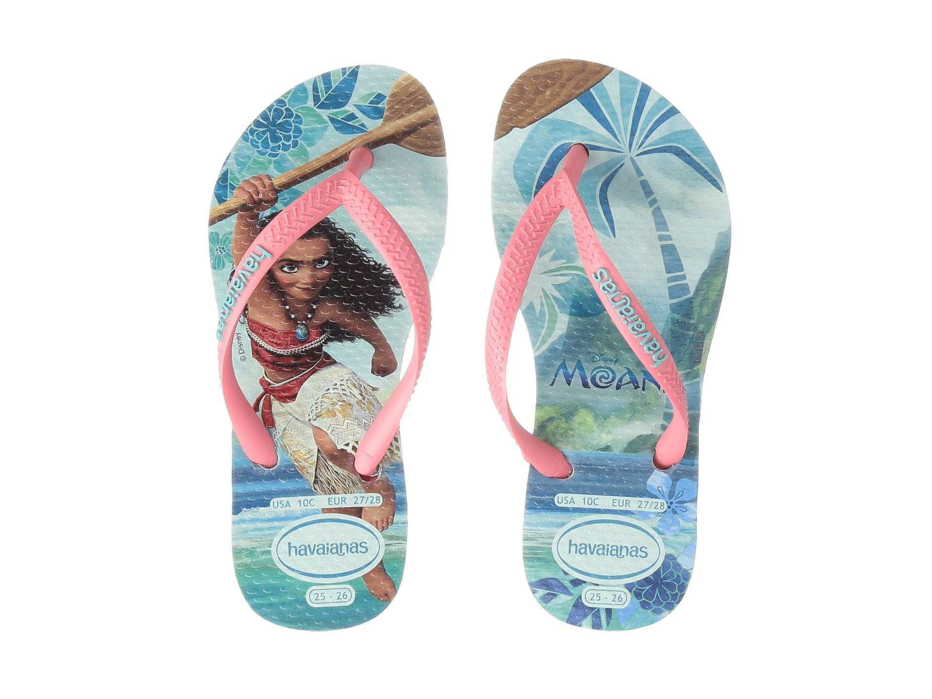 Havaianas Kids Moana Flip Flops Toddler Little Kid Big
