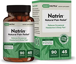 Sponsored Ad - Natrin Natural Pain Relief by DailyNutra - Relieves Headaches and Pain in The Back, Neck, Knees, and Joints...