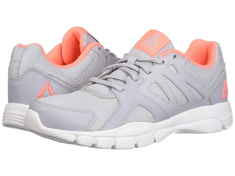 Reebok Trainfusion Nine 3.0 (Cloud Grey/White/Digital Pink) Women