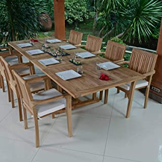 Amazon.fr : table teck rallonge