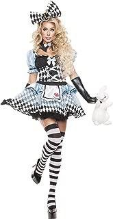 Starline Women's Glam Alice Sexy Cosplay Costume Set