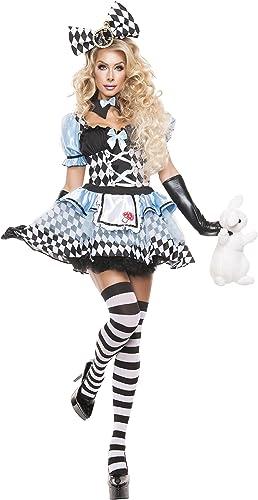 barato Wohombres Glam Glam Glam Alice Fancy dress costume Large  elige tu favorito