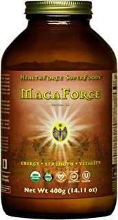 HealthForce SuperFoods MacaForce - 400 Grams - Whole Maca Root Supplement - Supports Fertility, Healthy Libido & Mood - Or...