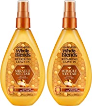 Garnier Whole Blends Honey Treasures Miracle Nectar Repairing Leave-in Treatment, 2 Count