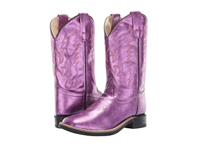 Old West Kids Boots Gina (Toddler/Little Kid) (Shiny Pink) Cowboy Boots
