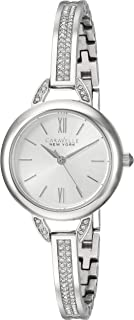 Caravelle New York Women's 43L200 Swarovski Crystal Stainless Steel Watch