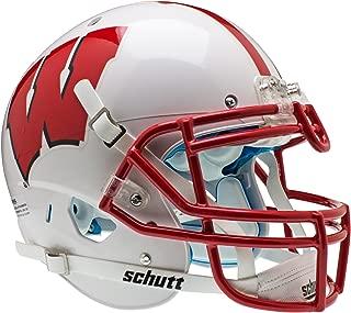 Schutt NCAA Wisconsin Badgers Collectible On-Field Authentic Football Helmet