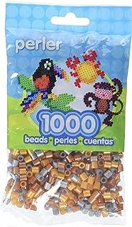 Perler Beads Fuse Beads for Crafts, 1000pcs, Metallic Mix