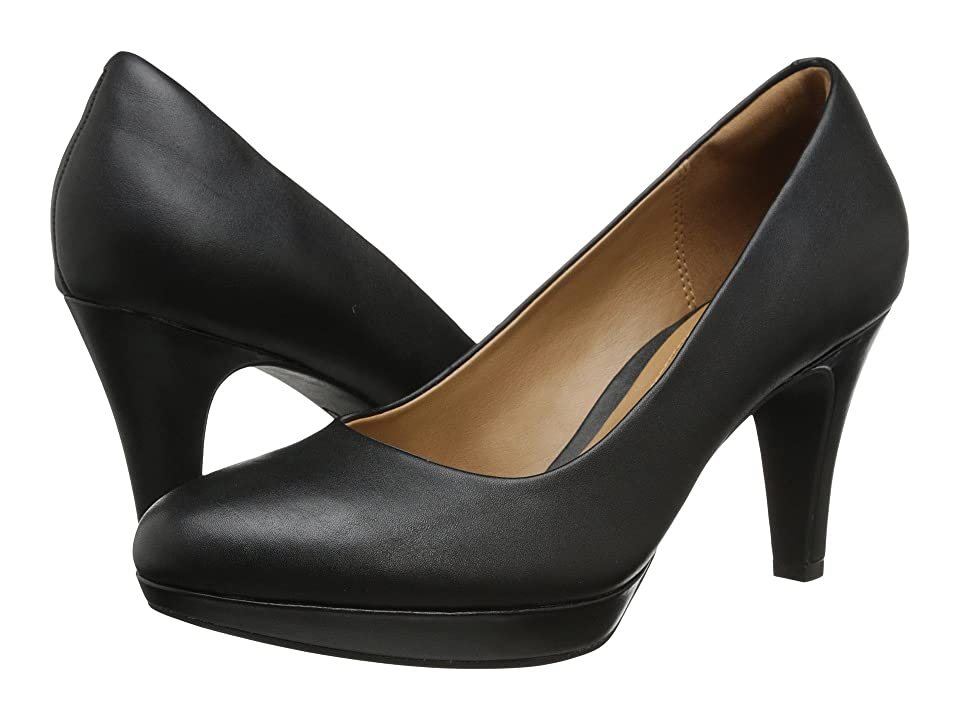 Clarks Brier Dolly (Black Leather) Women