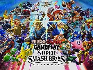 Clip: Super Smash Bros. Ultimate Gameplay - Zebra Gamer