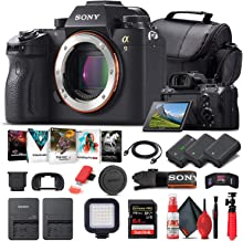 Sony Alpha a9 Mirrorless Digital Camera (Body Only) (ILCE9/B) + 64GB Memory Card + 2 x NP-FZ-100 Battery + Corel Photo Sof...