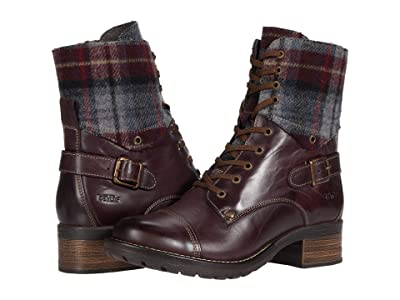 Taos Footwear Crave (Bordeaux/Plaid) Women