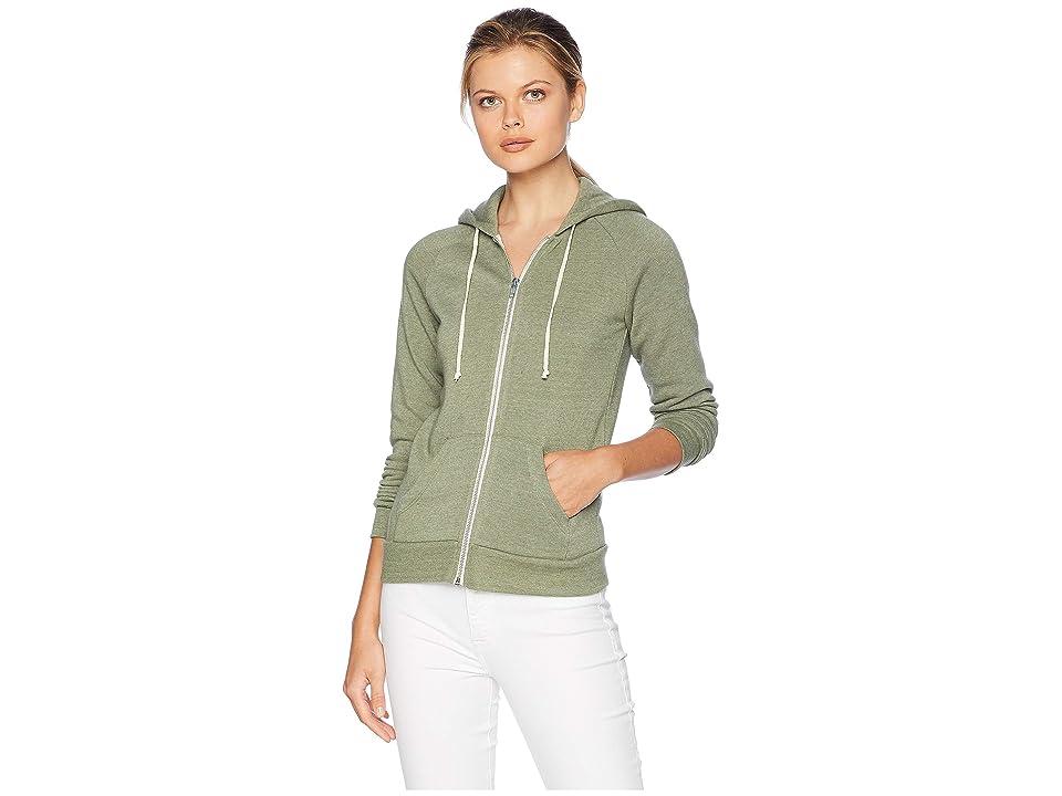 Alternative Adrian Hoodie (Eco True Army Green) Women