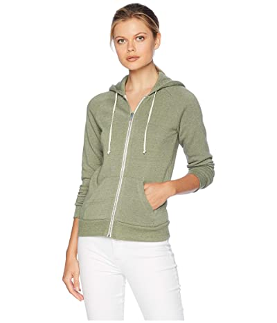 Alternative Adrian Hoodie (Eco True Army Green) Women