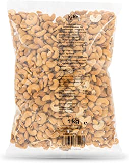KoRo - Cashewnoten geroosterd & gezouten - 1 kg - knapperige gezouten cashewnoten