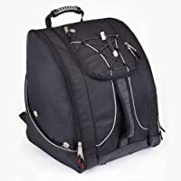 Athalon Everything Boot Bag/Backpack for Outdoor Sports (Black)