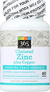 Best zinc chelate 15mg Reviews