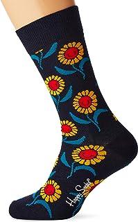 Happy Socks Men's Sunflower Sock, Multicolour (Multicolour