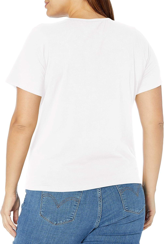 Erika Womens Darci Crew Neck Short Sleeve Tee Shirt