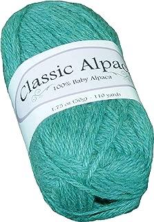 Sea Green Classic Alpaca 100% Baby Alpaca Yarn #1416