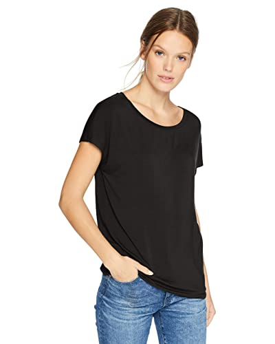 62bac0c8da6 Women s Black Short Sleeve Tee  Amazon.com
