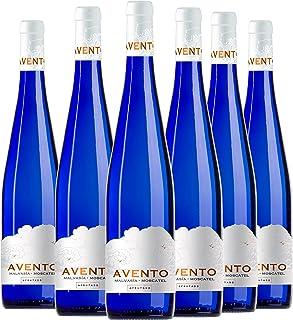 Avento Vino Blanco Malvasía Moscatel caja 6 botellas 75 cl.
