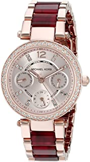 Michael Kors Women's Mini Parker Two-Tone Watch MK6239