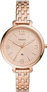 Fossil Women's Stainless Steel Quartz Watch Es4946, Rose Gold