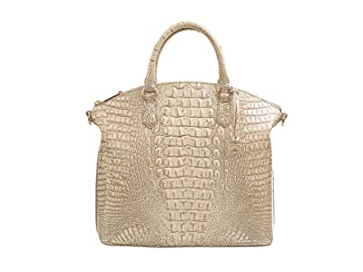 Brahmin Melbourne Large Duxbury Satchel (Stardust) Satchel Handbags