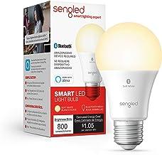 Sengled Smart LED Light Bulb, Compatible con Alexa, 800LM, Blanco suave 2700K, 8.7W (60W Equivalente), 1 Paquete - Actuali...