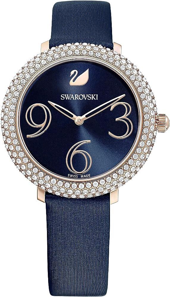 Swarovski orologio donna crystal frost in acciaio inossidabile 5484061