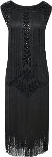 Women's 1920s Dress Vintage Beaded Fringed Inspired Flapper Dress