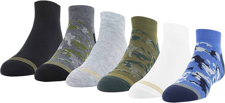 Gold Toe boys Camo Lo Cut Socks