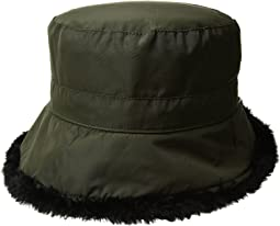 SCALA - Packable Cloche w/ Faux Fur