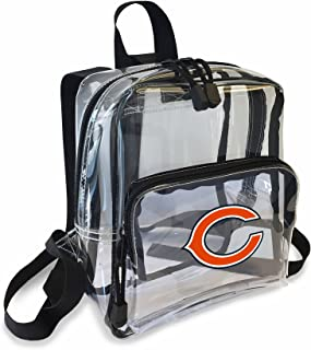 chicago bears clear backpack