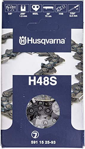 """wholesale Husqvarna 591152593 H48S-093G 28"""" Skip Tooth Chisel outlet online sale Chainsaw Chain 3/8 online sale .058 93DL online sale"""