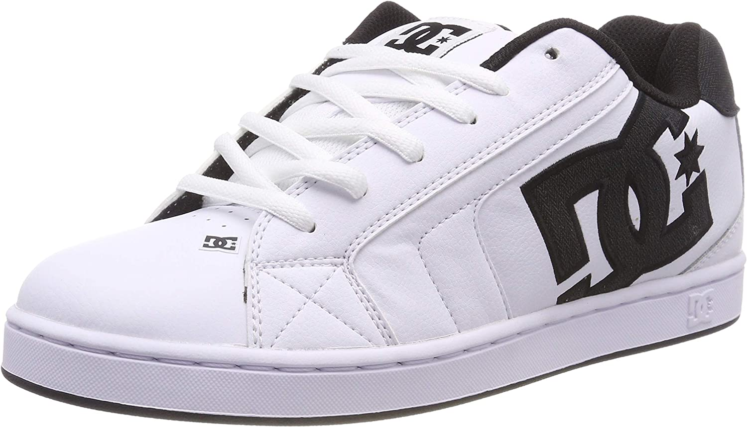 DC shoes Mens Net Se Leather Trainers
