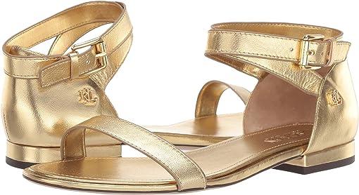 RL Gold Metallic Leather