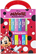 Disney - My Friend Minnie Mouse - My First Library 12 Board Book Block Set - PI Kids: 12 Board Books